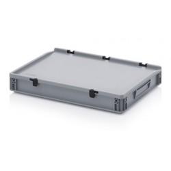 Contenitore Impilabile con coperchio ED 64/75 HG