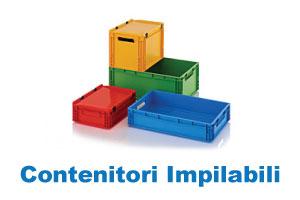 contenitori impilabili